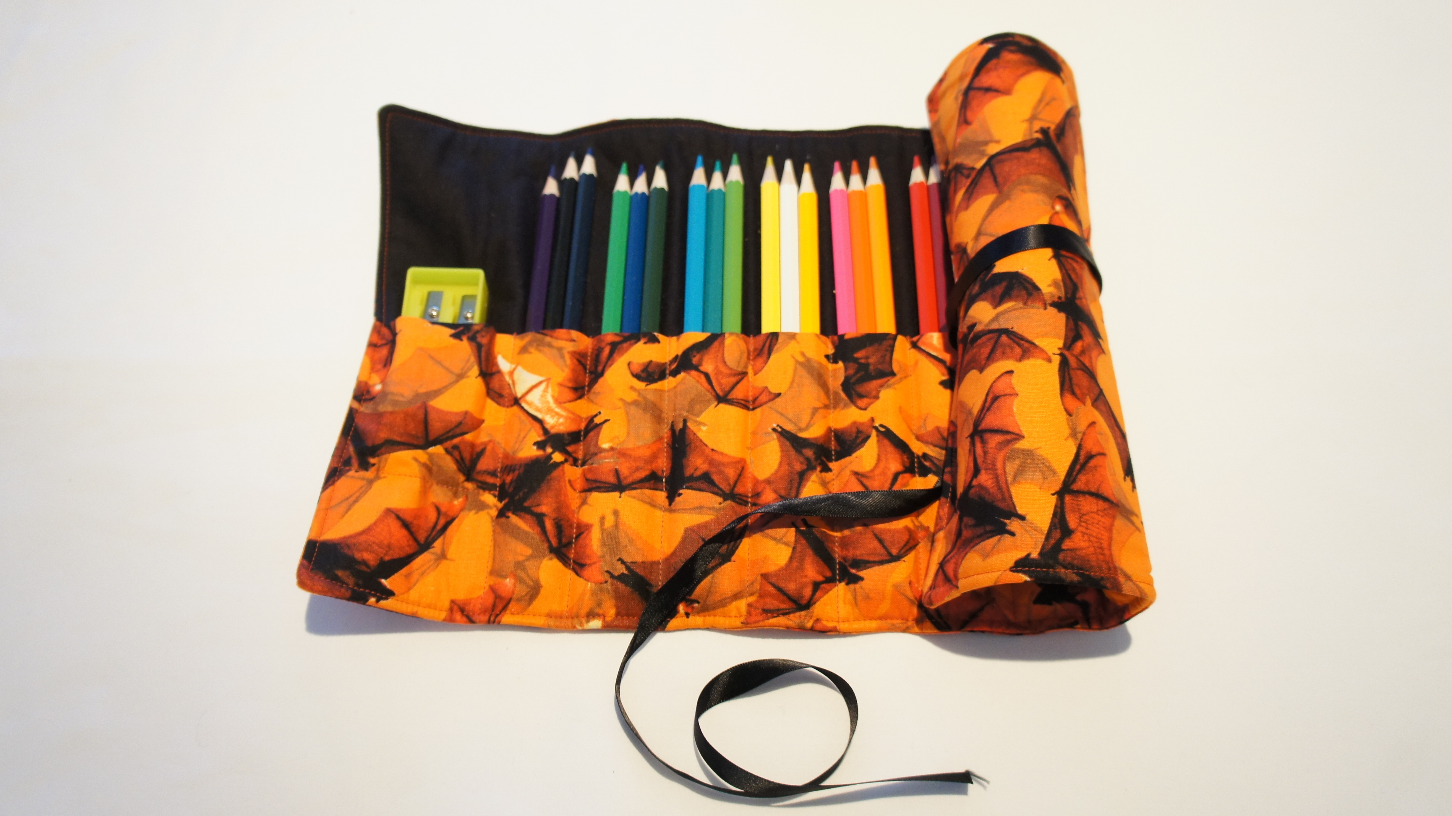 Hand Made Pencil Roll 00127