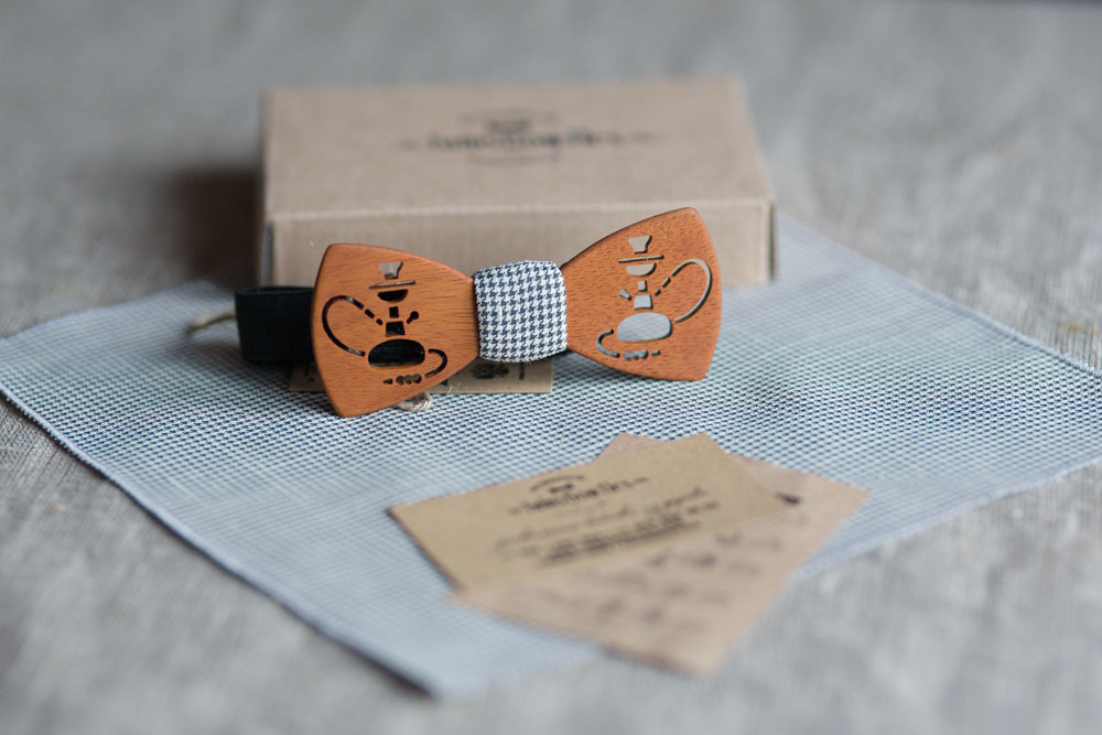 Бабочка-галстук из дерева своими руками 97
