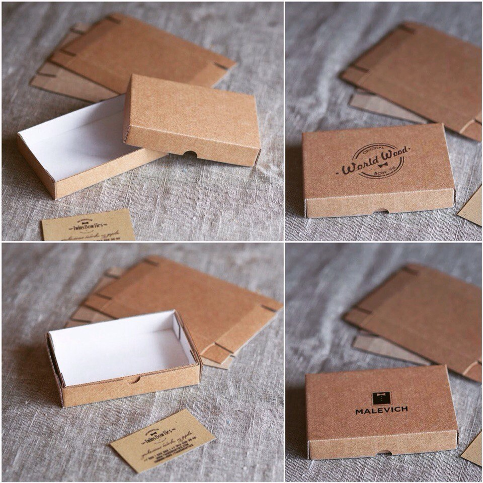 Печать на коробке своими руками
