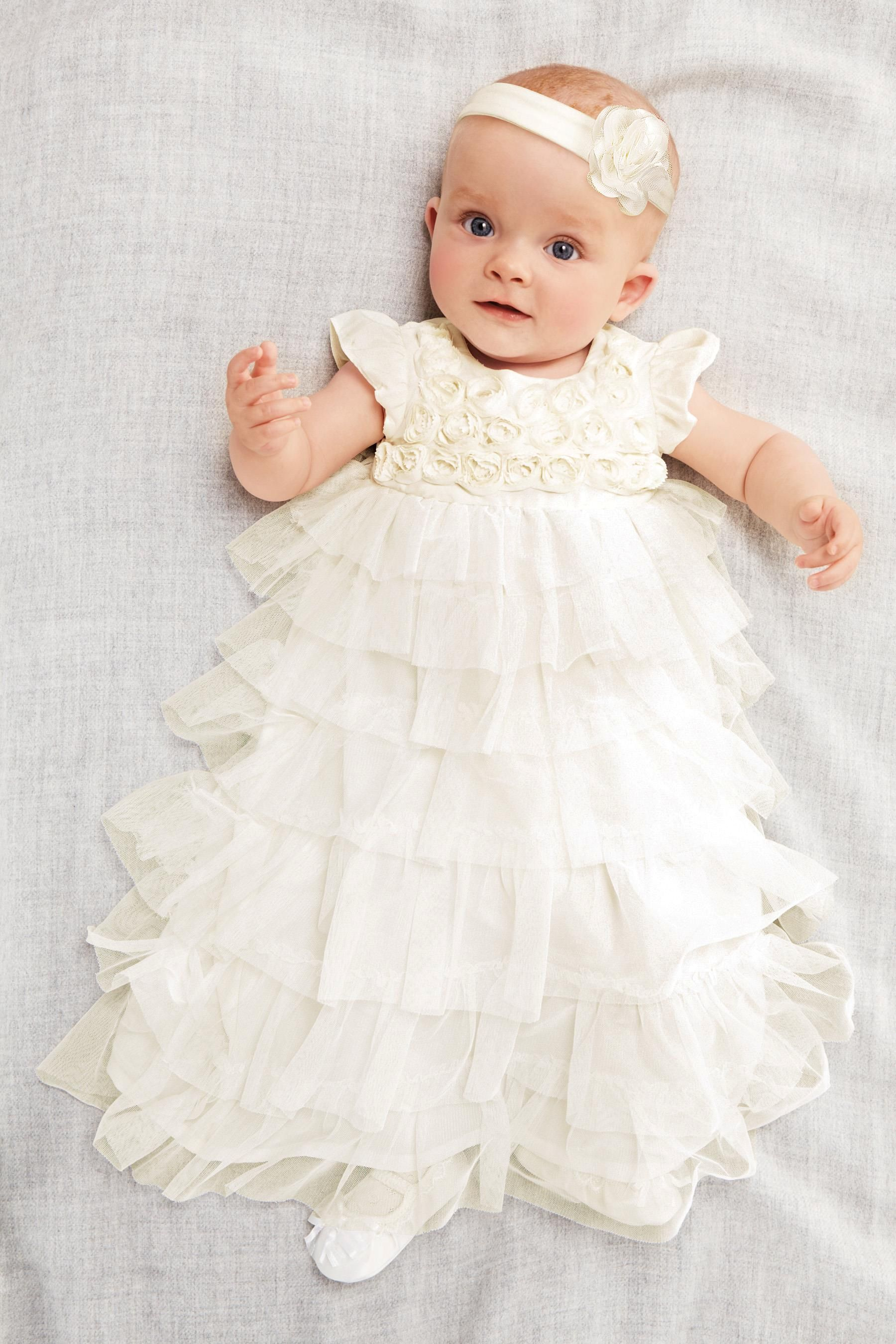 Красивые платья для детей до года фото