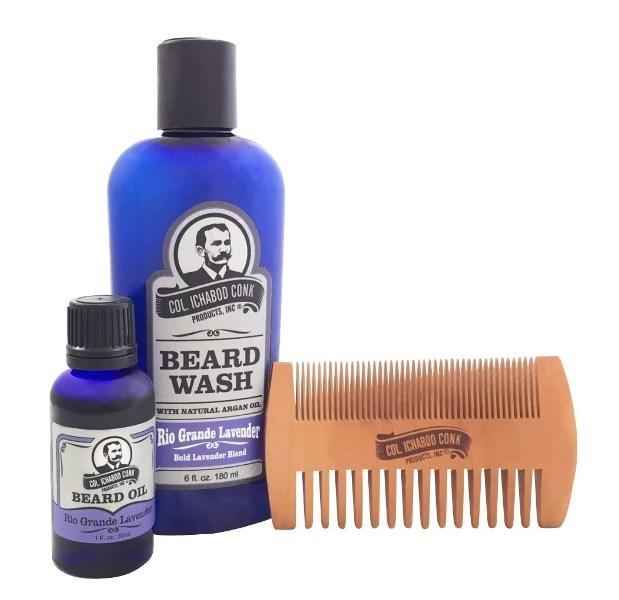 Lavender beard