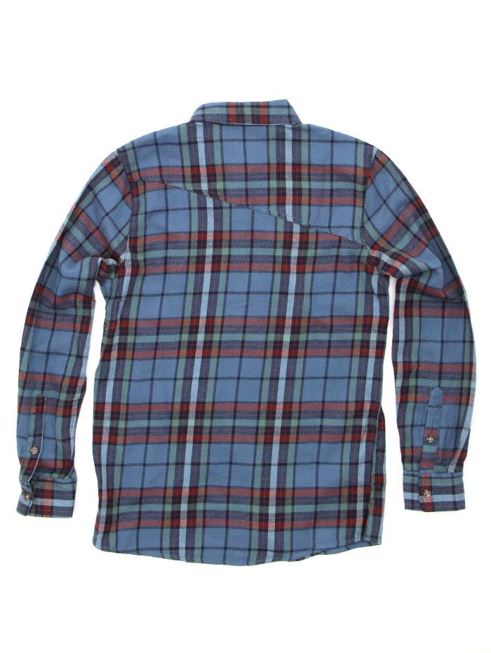 SAMPLE. Blue Flannel