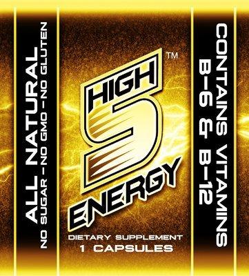 High 5 Energy Appetite Crusher Capsules 1ct trial packs (20 packs)
