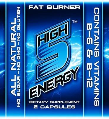 High 5 Energy Fat Burner Capsules 2ct trial packs (20 packs)