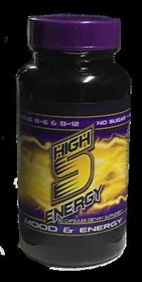 High 5 Energy Mood & Energy Bottle 60ct