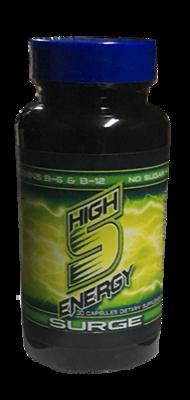 High 5 Energy Surge  Bottle 60ct