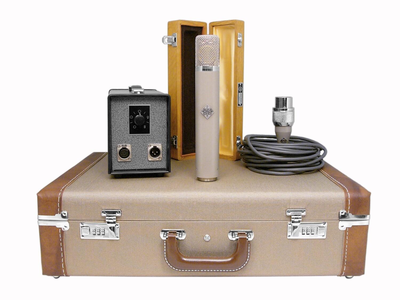 Telefunken Elektroakustik C12 tube microphone system