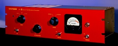 D. W. Fearn VT-1 single channel vacuum tube microphone preamp