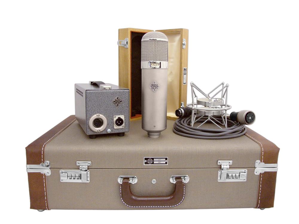 Telefunken Elektroakustik U48 tube mic system