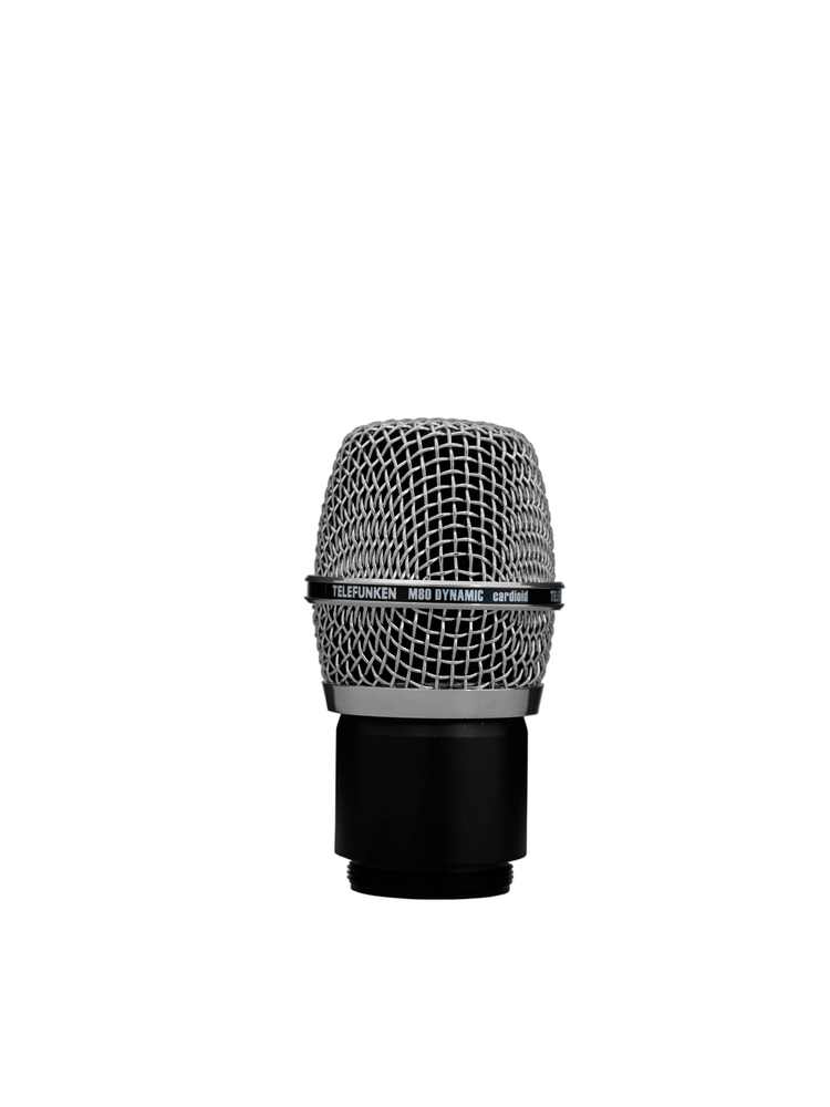 Telefunken Elektroakustik M80  WH wireless dynamic capsule head (chrome grille)