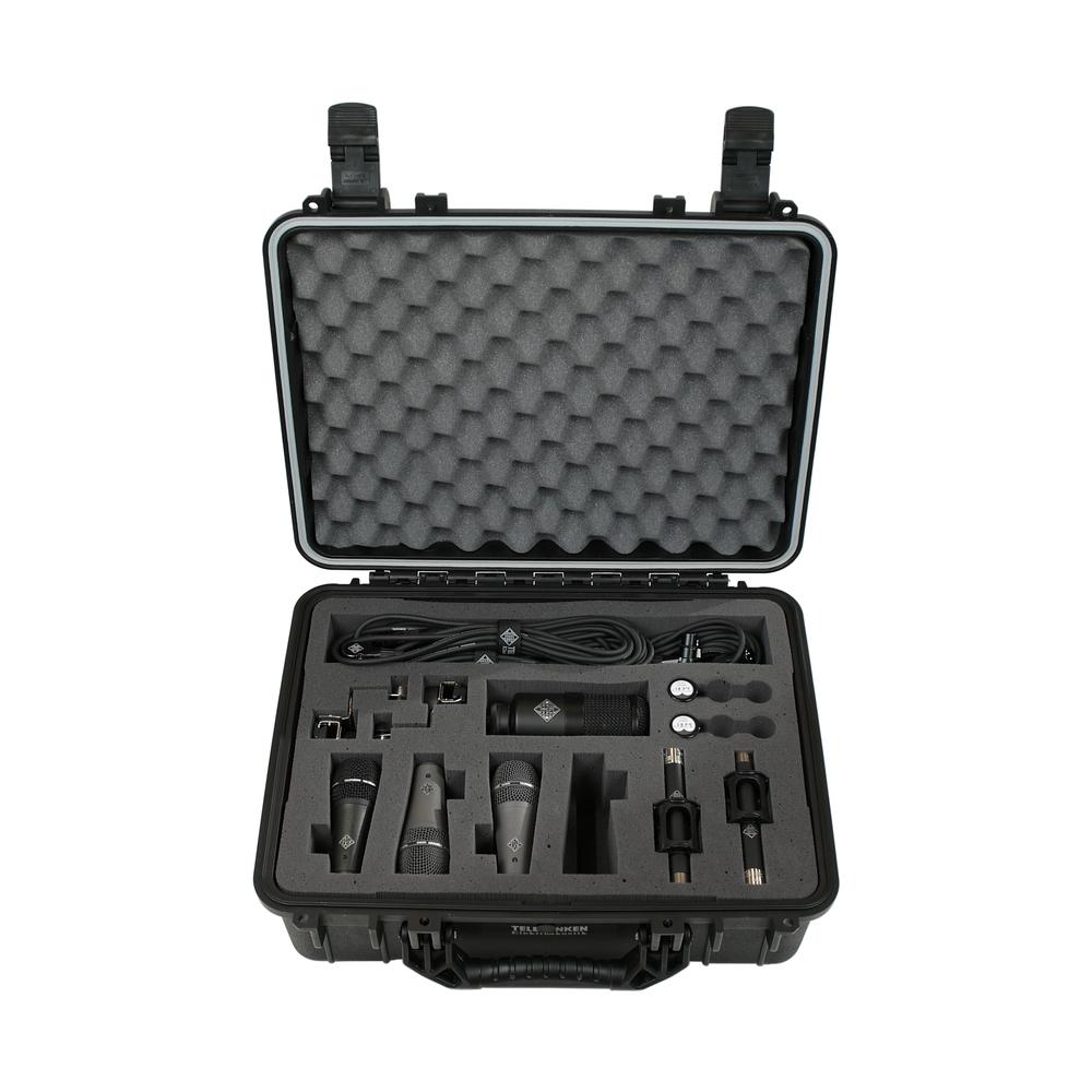 Telefunken Elektroakustik D6 drum mic pack