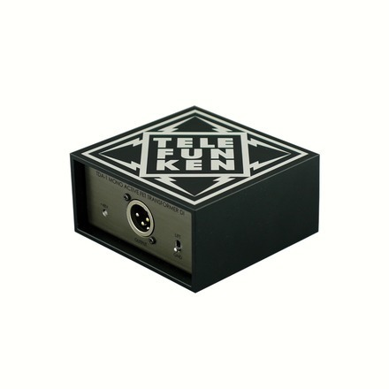 Telefunken Elektroakustik TDA1 mono active DI direct box