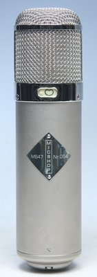 Mic Shop MS-47 mkII Vacuum Tube Microphone System |Telefunken U47 challenge