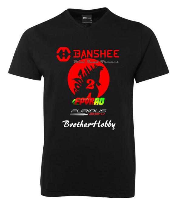 Limited Edition Banshee Frames GoJira 2 Redemption Shirt