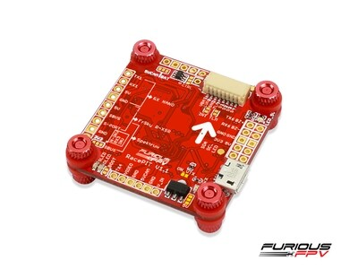 FuriousFPV RacePit F4 FC with BlackBox