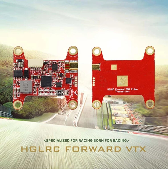 HGLRC Forward VTX 5.8G 48CH 25/50/100/200/400mW FPV Transmitter