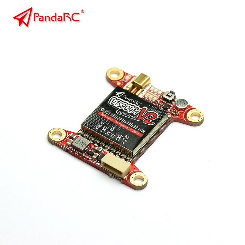 PandaRC MV2 25-600mW Stack Mountable VTX