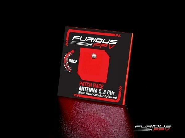 FuriousFPV Feather Patch Race Antenna 5.8GHz (RHCP)