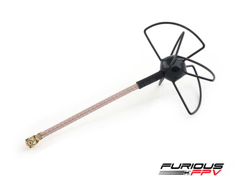 Furious FPV UFL Clover Antenna - Black