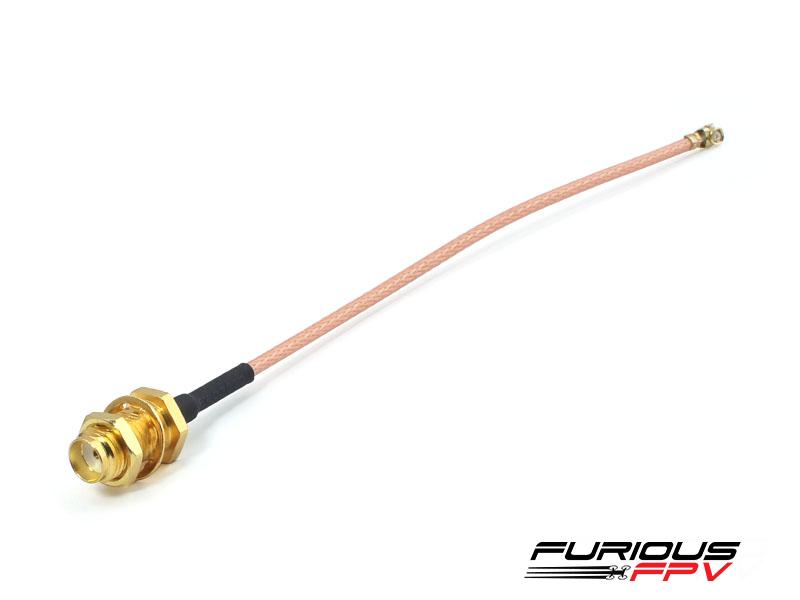 FuriousFPV UFL to SMA female cable