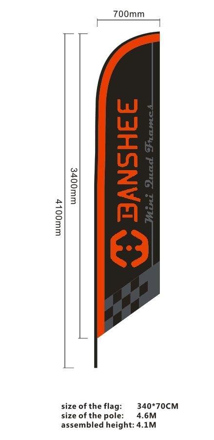 Banshee Race Flags