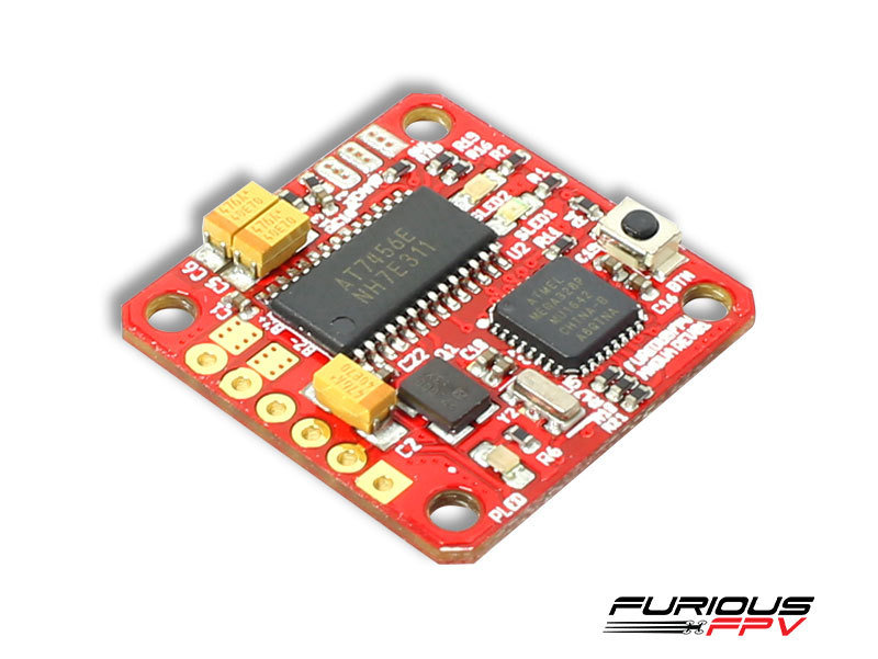 FuriousFPV MNova switchable 25-200mw VTX with OSD