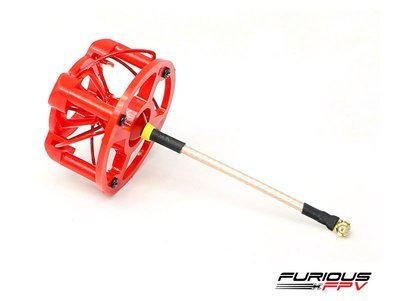 Furious FPV RCHP Red or Black Antenna Cover (cover only)