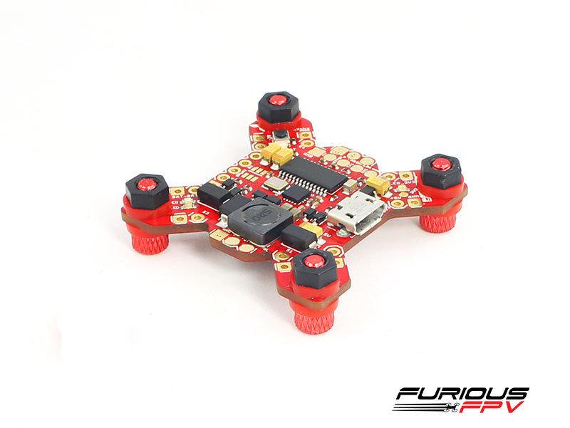 FuriousFPV Fortini F4 OSD 32khz Flight Controller rev2