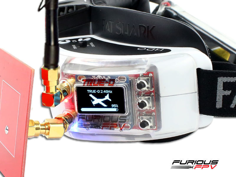 Furious True-D 2.4 GHz Diversity RX - Clarity Redefined (RX only)