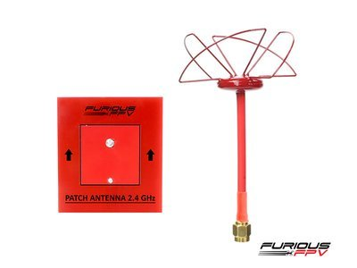 Circular Antenna RHCP 2.4 GHz SMA and Patch antenna 2.4GHz - SMA