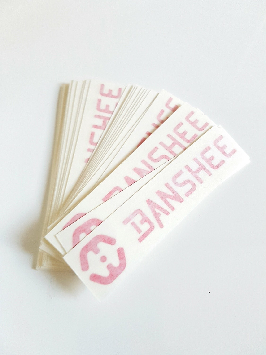 Banshee Vinyl stickers (100x22mm)