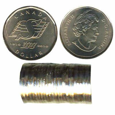 Канада. Елизавета II. 2010. 1 доллар - ролл из 25 монет. Саскачеван. Ni-Cu. KM#. UNC