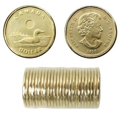 Канада. Елизавета II. 2016. 1 доллар. Везучий Селезень. Ni-Cu. KM#. UNC