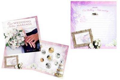 Канада. Елизавета II. 2004. Набор монет. Серия: Свадьба. #01. Ni, Fe. Proof Like. PL60