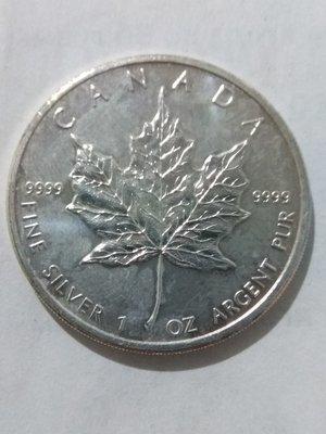 Канада. Елизавета II. 2011. 5 долларов. Кленовый лист. 0.9999 Серебро 1.0 Oz., ASW., 31.1 g., BU. UNC