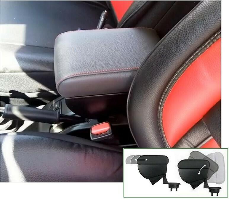 Adjustable armrest with storage for Suzuki Jimny and Jimny (2018>)