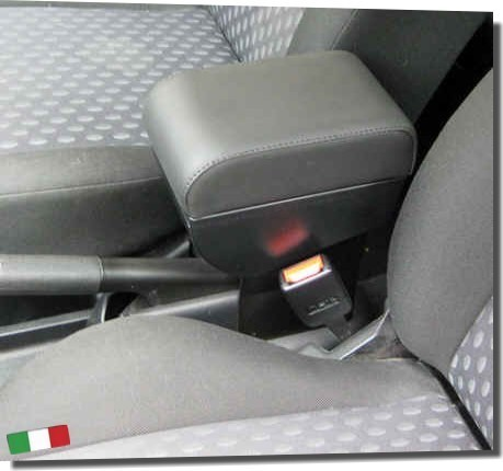 Adjustable armrest with storage for Ford Fiesta / Fusion