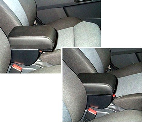 Adjustable armrest with storage for Opel Zafira B