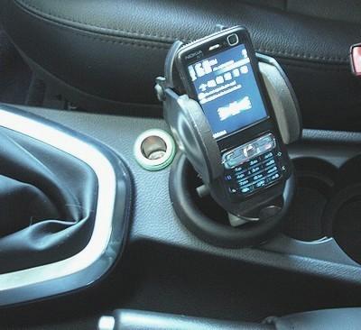 Phone holder for Freelander 2 (2007-2012)