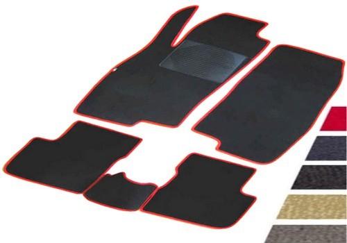 Fiat - Tappeti in vero velluto su misura - 6 colori a scelta
