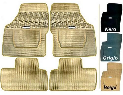 Mercedes - Tappeti in gomma su misura - 3 colori a scelta
