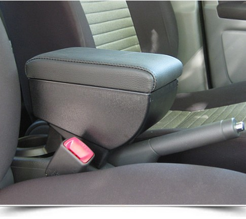 Adjustable armrest with storage for Fiat Sedici