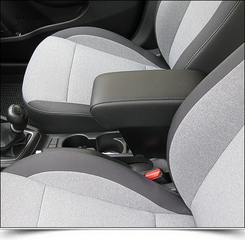 Armrest with xxl storage for Hyundai i20 2015> mittelarmlehne made in italy