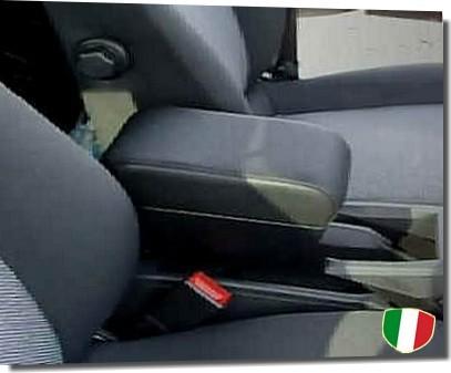 Bracciolo regolabile e portaoggetti Audi 80