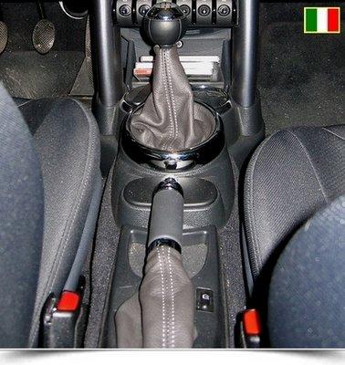 Coppia soffietti cambio e freno a mano per New Mini (2001-2006)