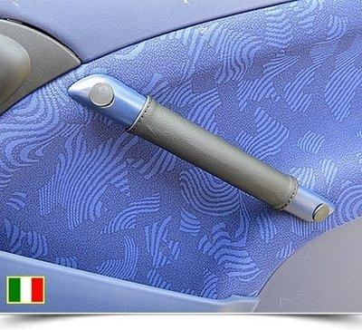 Coppia coprimaniglie in vera pelle per Smart ForTwo 450