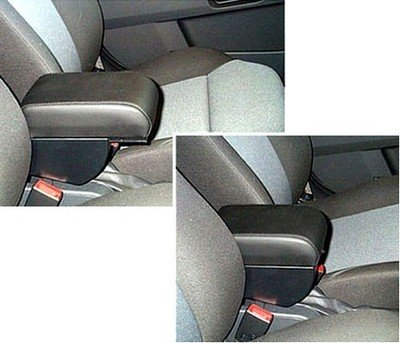 Adjustable armrest with storage for Opel Astra G