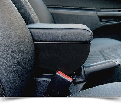 Adjustable armrest with storage for Opel Astra H