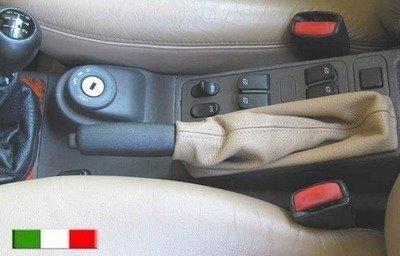 Soffietto per leva freno a mano in vera pelle per SAAB 9.3 (1998-2003) e SAAB  900S-SE  (1994-1997)