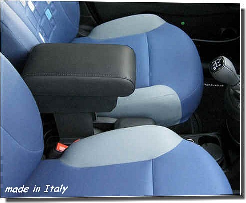 Armrest with storage for Fiat Panda New (from 2012) - mittelarmlehne